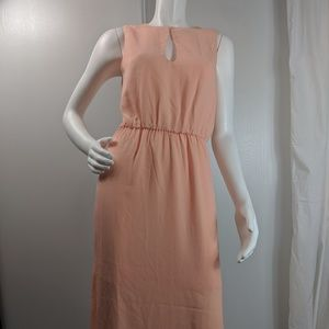 Charles Henry keyhole lined sleeveless dress sz XS